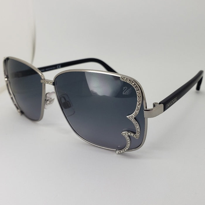 Swarovski Sunglasses Gray & Blue Gradient Women's