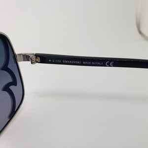 Swarovski Women's Aviator Sunglasses Blue Lens - Model No