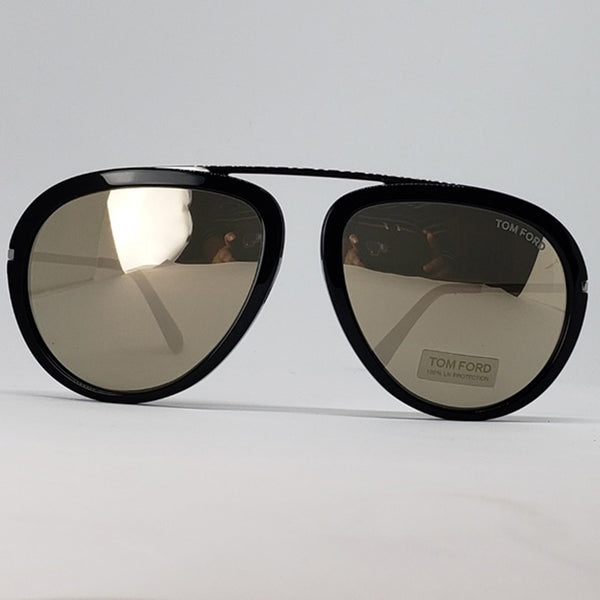 Tom Ford Aviator Unisex Sunglasses Light Gold Lens | Front View