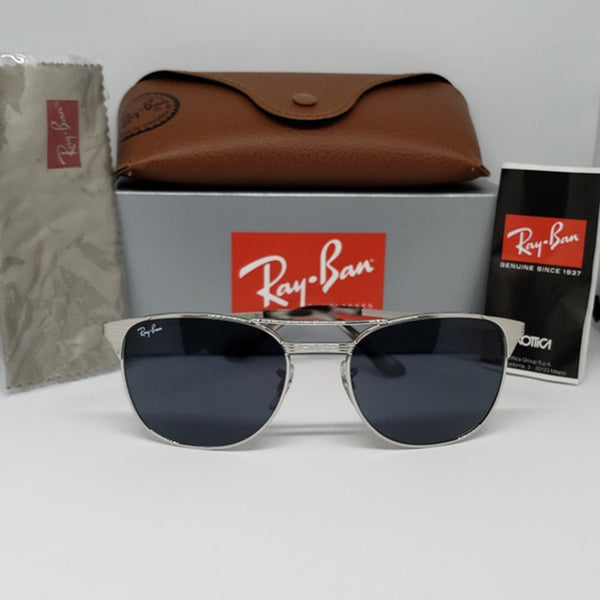 Ray Ban Women's Aviator Sunglasses Gray Lens - Front view