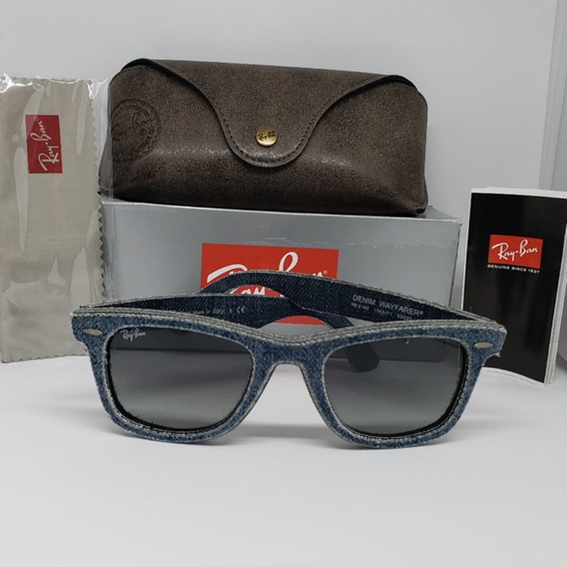 361252a65a Ray-Ban Sunglasses Denim Jeans Frame Gray Gradient Unisex RB2140 116371