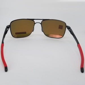 Oakley Pilot Sunglasses Men Prizm Ruby Lens - Back View