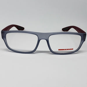 Prada Eyeglasses Sports Frame With Demo Lens | Front View