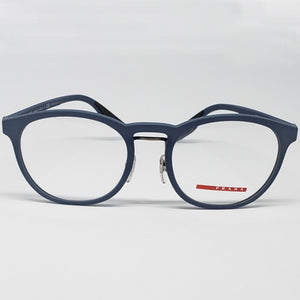 Prada Sports Light Blue Unisex Eyeglasses Demo Lens | Front