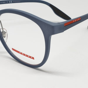 Prada Sports Light Blue Unisex Eyeglasses Demo Lens | Lens View
