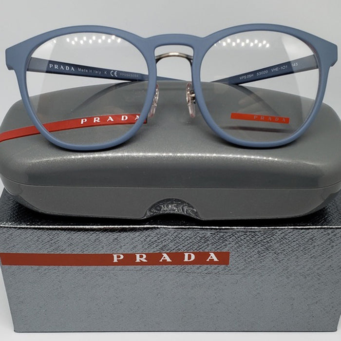 Prada Sports Eyeglasses Light Blue w/Demo Lens Unisex