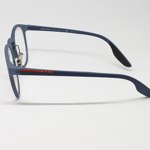 Prada Sports Light Blue Unisex Eyeglasses Demo Lens | Side View