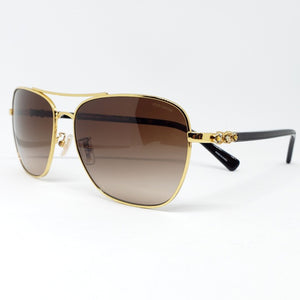 Coach Sunglasses Brown Gradient Women's
