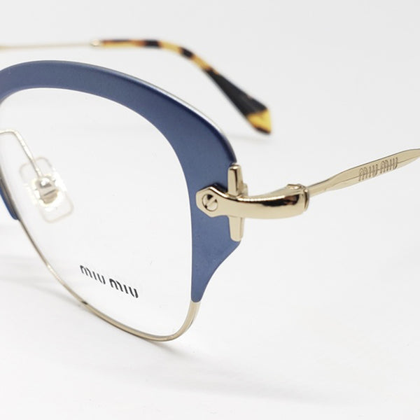 Miu Miu RX Cat Eye Women's Eyeglasses Demo Lens - Lens View