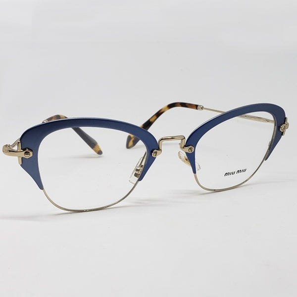 Miu Miu RX Cat Eye Women's Eyeglasses Demo Lens - Full View