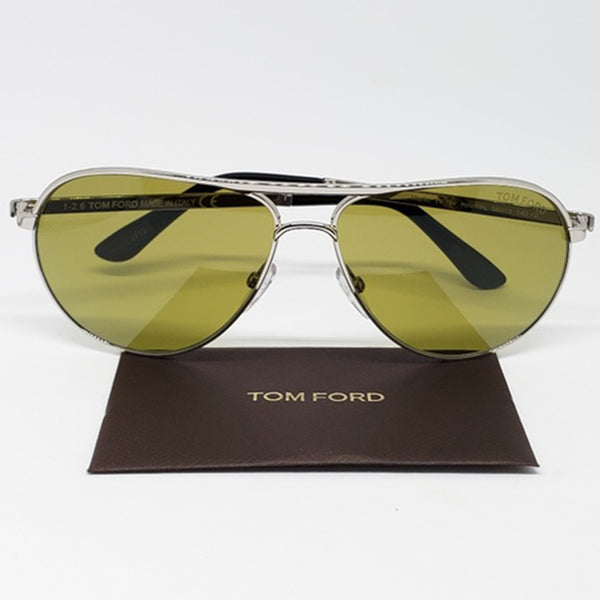 Tom Ford Marko Aviator Unisex Sunglasses Silver - Frame View