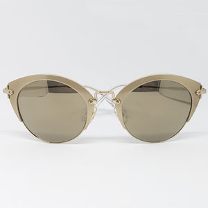 Miu Miu Women's Cat Eye Sunglasses Mirror Lens | Front View