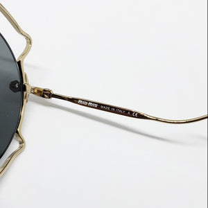 Miu Miu Butterfly Women's Sunglasses - Temple View