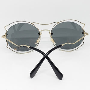 Miu Miu Butterfly Women's Sunglasses - Back View