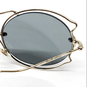 Miu Miu Butterfly Women's Sunglasses - Lens View