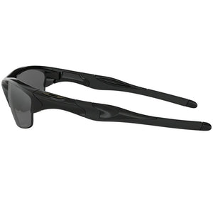 Oakley Half Jacket 2.0 Sunglasses Black Iridium Lens - Side View