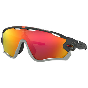 Oakley Sunglasses Jawbreaker Aero Flight Matte Carbon/Prizm Ruby Men's OO9290-34