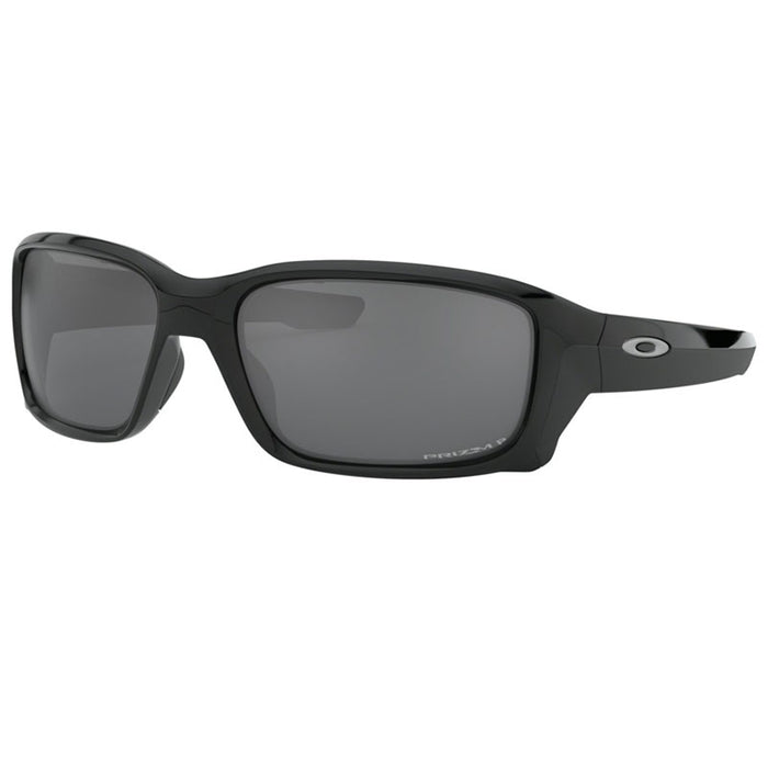 Oakley Men's Straightlink Sunglasses Polished Black w/Prizm Black Polarized Lens  OO9331 16