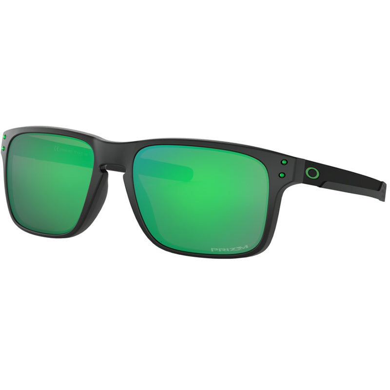 2730bc8695 Oakley Holbrook Mix Sunglasses Matte Black Ink w Prizm Jade Lens Men OO9385  03
