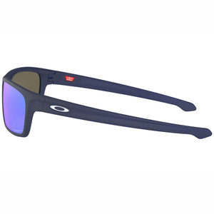 Oakley Sliver Stealth Sunglasses Prizm Sapphire Lens - Side View