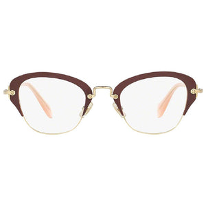 Miu Miu Cat Eye Frame Women Eyeglasses Demo Lens - Front