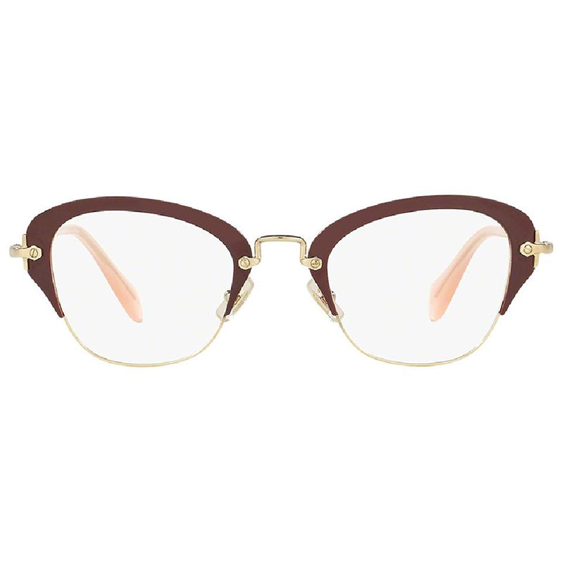 37dc0a941245 Miu Miu Cat Eye Eyeglasses Women s MU53OV-UA51O1-50 – The Shades Hut