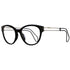 Miu Miu Cat Eye Women's Black Eyeglasses Demo Lens