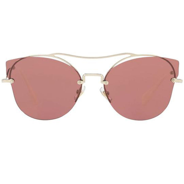 Miu Miu Butterfly Style Women Sunglasses Pink Lens | Front