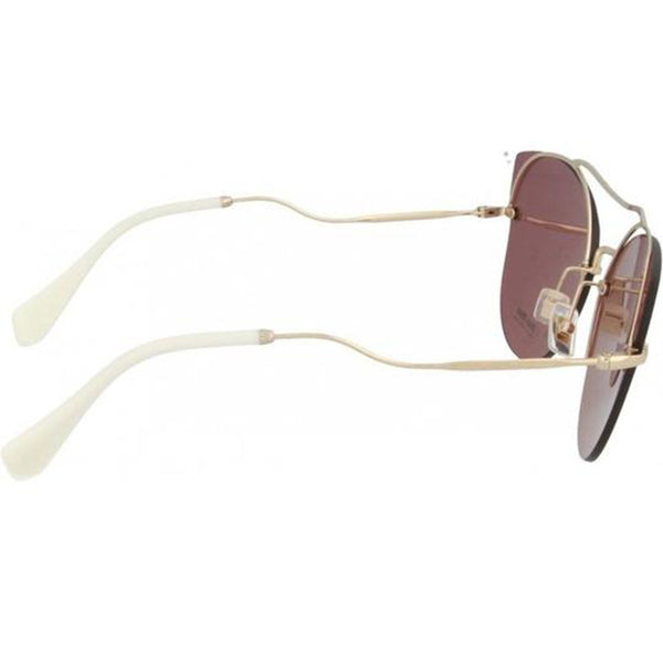Miu Miu Butterfly Style Women Sunglasses Pink Lens | Right Side