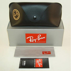 Ray Ban Unisex Square Sunglasses Green or Brown Lens | Cases