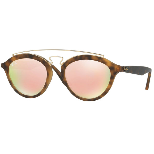 Ray Ban Gatsby II Unisex Sunglasses With Pink Lens