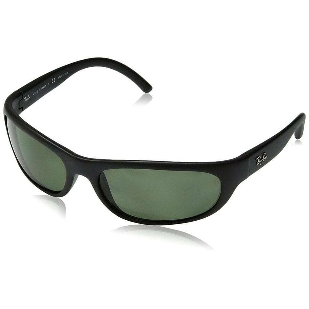 Ray-Ban Men's Sunglasses W/Green Polarized Lens RB4033 601S48