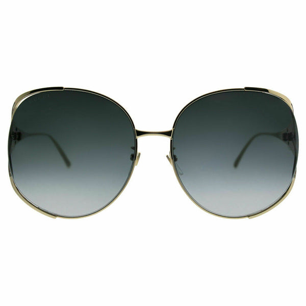 Gucci Women's Sunglasses Grey Lens GG0225S-001 - Front