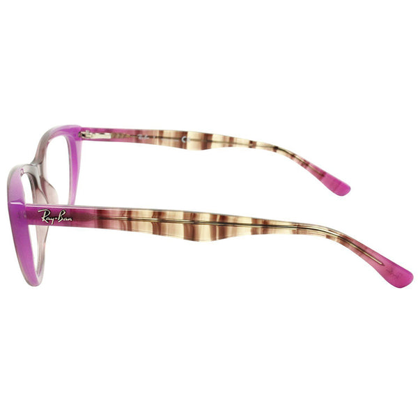 Ray-Ban Eyeglasses Grad Antique Pink On Pink Color w/Demo Lens Women's RX5322 5489 51