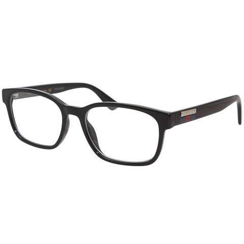 Gucci Rectangular Men's Eyeglasses Black W/Demo Lens GG0749O 004
