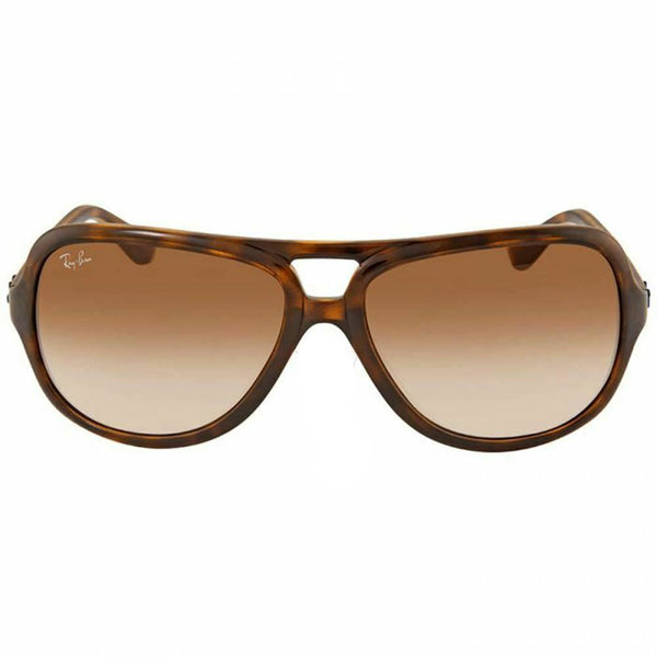Ray-Ban Men's Aviator Sunglasses Brown Gradient Lens RB4162 710/51