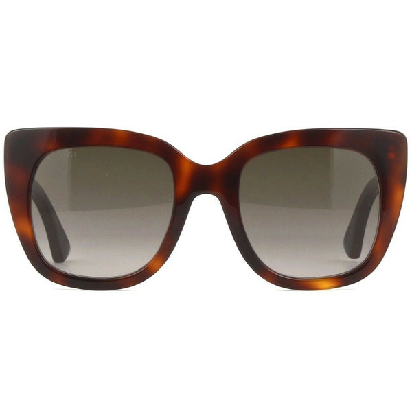 Gucci Women's Sunglasses Brown Lens GG0163S-002 - Front
