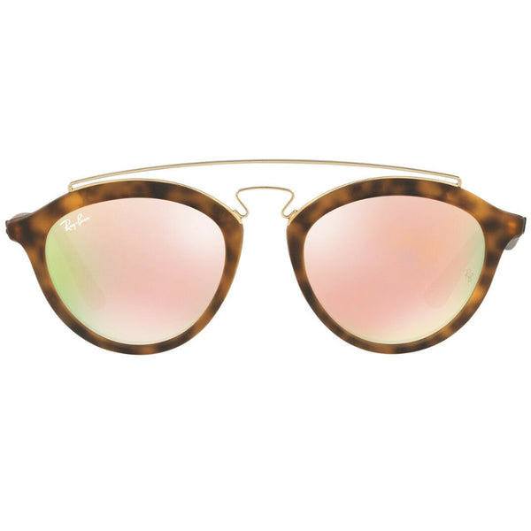 Ray Ban Gatsby II Unisex Sunglasses With Pink Lens - Front