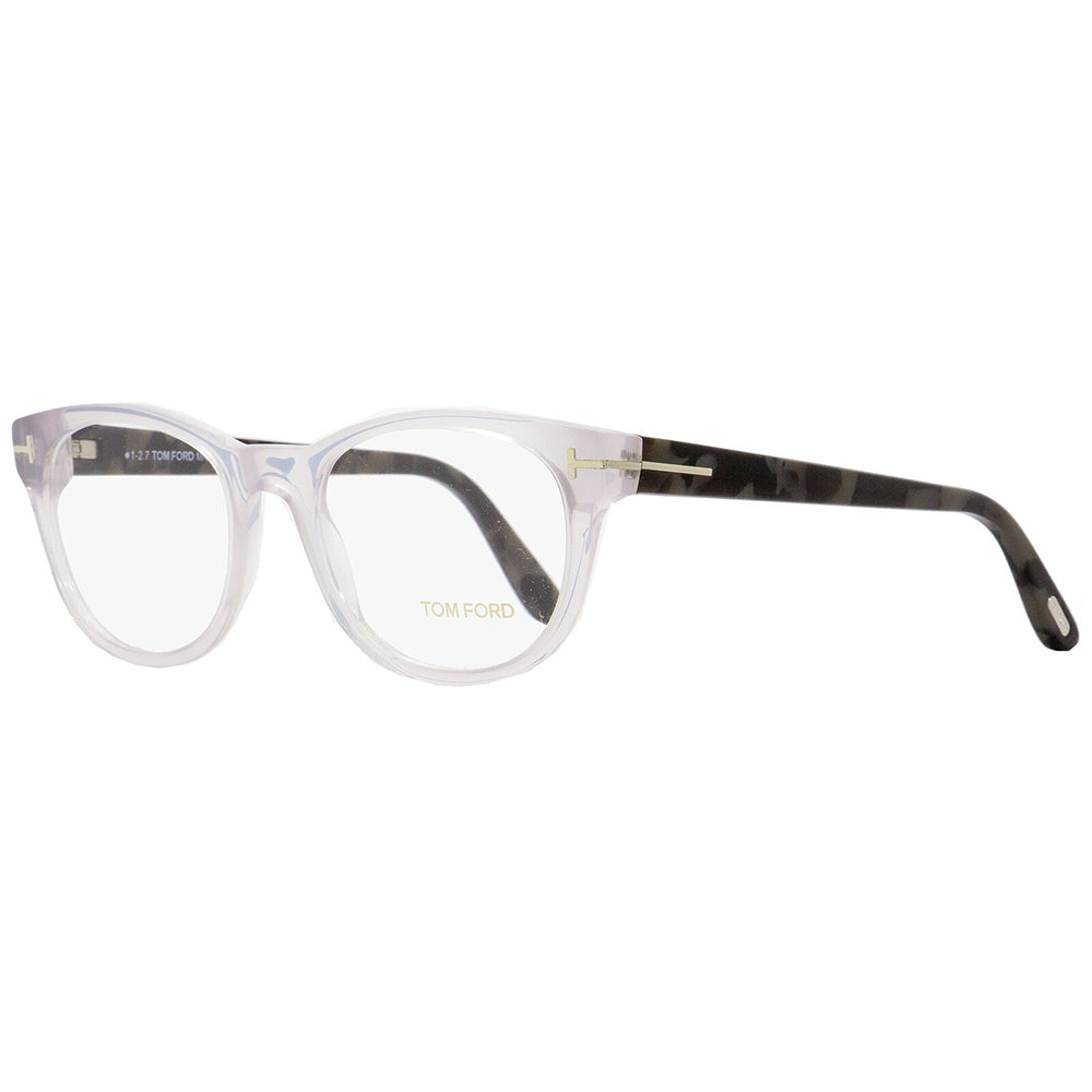 Tom Ford Unisex Eyeglasses Crystal W/Demo Lens FT5433/020