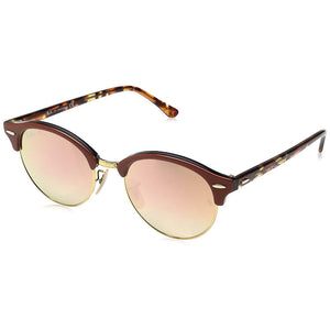 Ray Ban Clubround Unisex Sunglasses - Copper Flash Lens