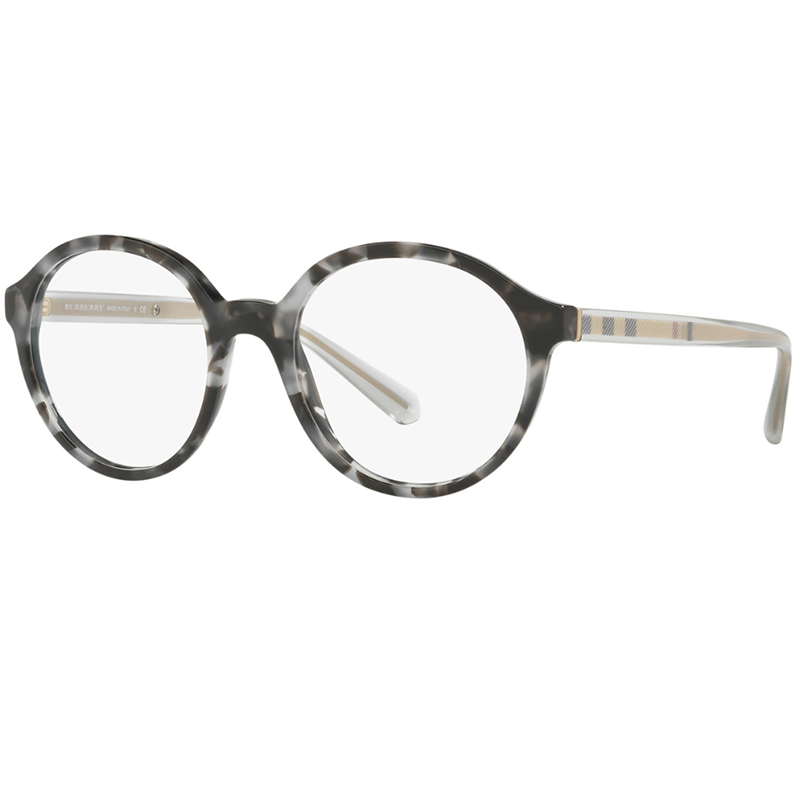 Burberry Eyeglasses Grey Havana w/Demo Lens Women