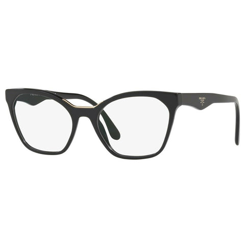 Prada Women's Eyeglasses Black w/Demo Lens PR09UV 1AB1O1