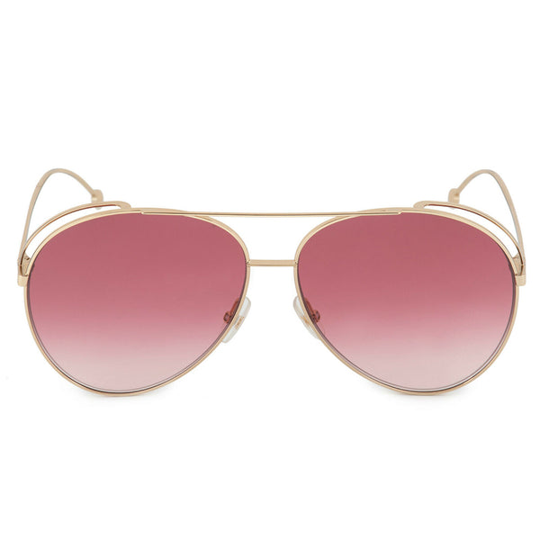 Fendi Aviator Women's Sunglasses