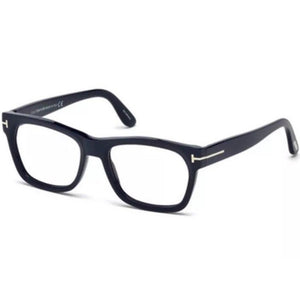 Tom Ford Men's Eyeglasses Matte Blue W/Demo Lens FT5468/091