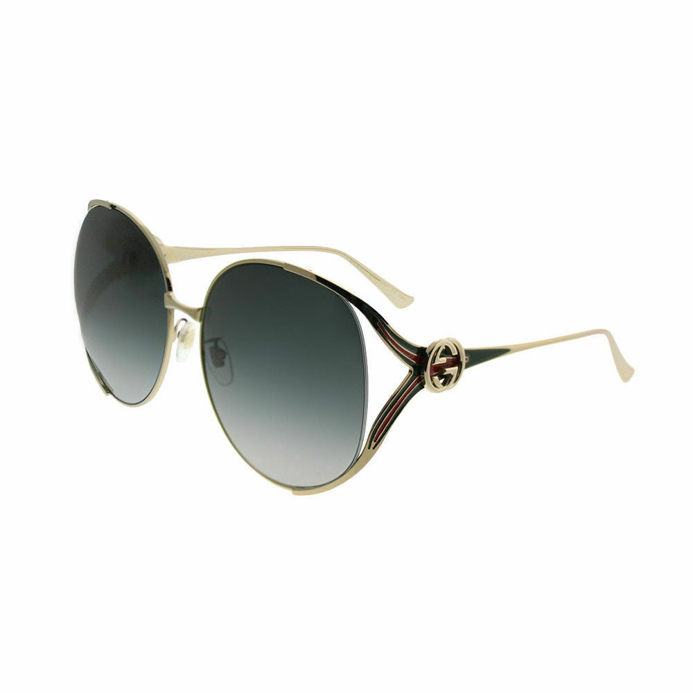Gucci Women's Sunglasses W/Grey Gradient Lens GG0225S-001