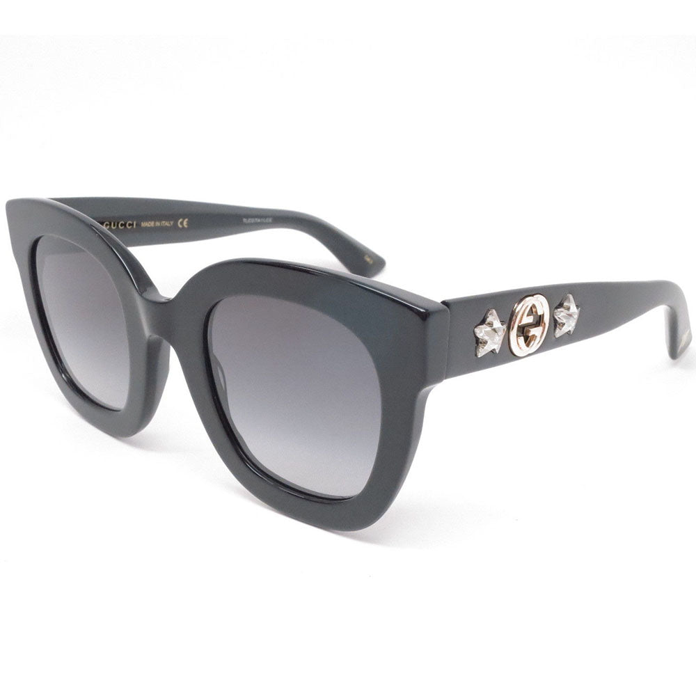 Gucci Women's Sunglasses W/Grey Gradient Lens GG0208S-001