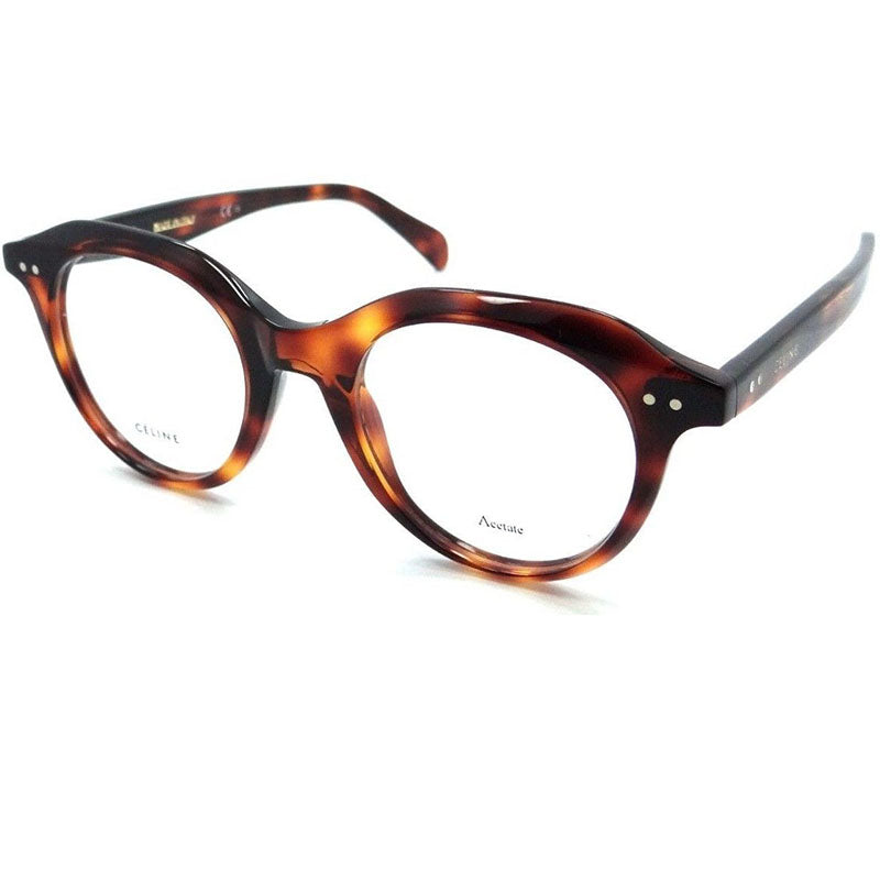 Celine Eyeglasses Women Dark Havana w/Demo Lens CL41458-08620-45