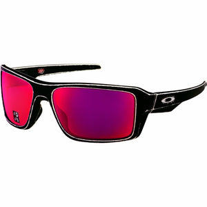 Oakley Double Edge Men's Sunglasses W/Torch Iridium Polarized Lens OO9380 25