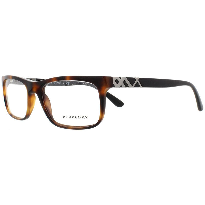 Burberry Unisex Rx Rectangular Eyeglasses Havana w/Demo Lens  BE2240 3627