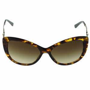 Versace Women's Cat Eye Sunglasses Brown Lens | Front Look